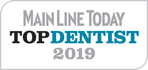 Top Dentist 2019 badge